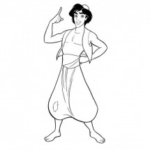 Coloriages Aladdin