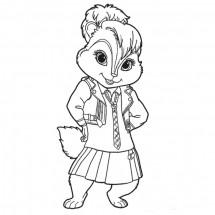 Coloriages Alvin et les Chipmunks