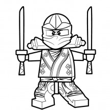 Coloriages Lego Ninja Go