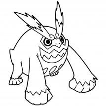 Coloriages Pokémon commencant par D