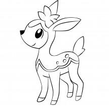 Coloriages Pokémon commencant par V