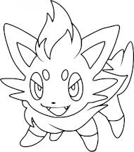 Coloriages Pokémon commencant par Z