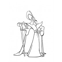 Coloriage Jafar