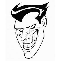 Coloriage Portrait du Joker