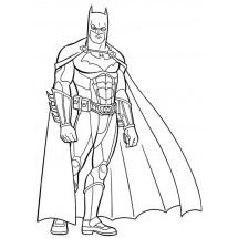 Coloriage Batman #2
