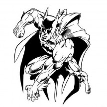 Coloriage Batman #3