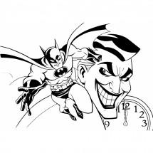 Coloriage Batman et le Joker