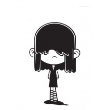 Coloriage Lucy Loud