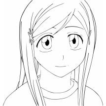 Coloriage Orihime Inoue #2