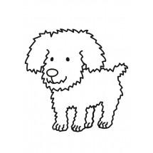 Coloriage Petit chien