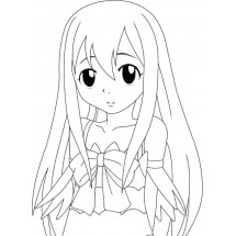Coloriage Wendy Marvell