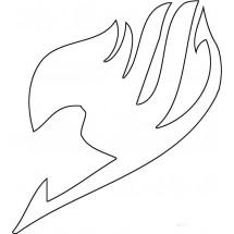 Coloriage Logo Fairy Tail