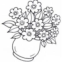 Coloriage Fleur de printemps