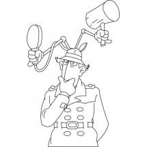 Coloriage Inspecteur Gadget #2