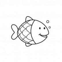 Coloriage Petit poisson