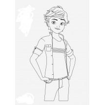 Coloriage Adrien