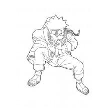 Coloriage Naruto enfant