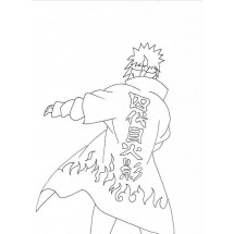 Coloriage Minato
