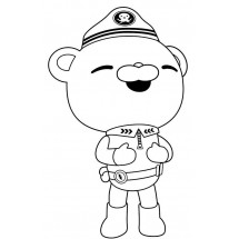Coloriage Capitaine Barnacles