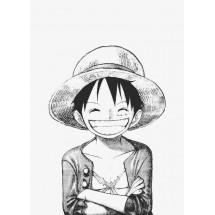 Coloriage Luffy Chapeau de Paille