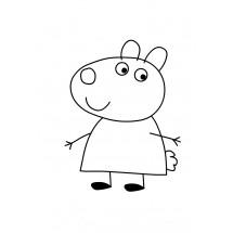Coloriage Suzy Sheep