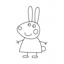 Coloriage Rebecca Rabbit