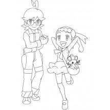 Coloriage Clem et Lem
