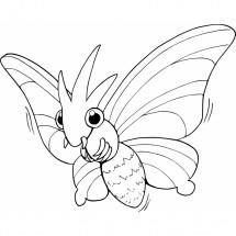 Coloriage Pokémon Aéromite