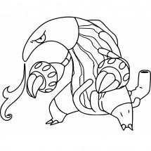 Coloriage Pokémon Aflamanoir