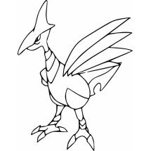Coloriage Pokémon Airmure