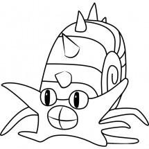 Coloriage Pokémon Amonistar