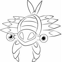 Coloriage Pokémon Anorith