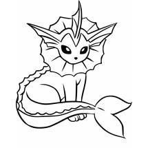 Coloriage Pokémon Aquali