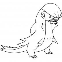 Coloriage Pokémon Argouste