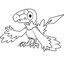 Coloriage Pokémon Arkéapti