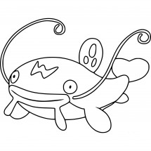 Coloriage Pokémon Barbicha