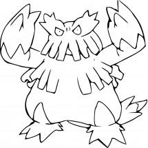 Coloriage Pokémon Blizzaroi