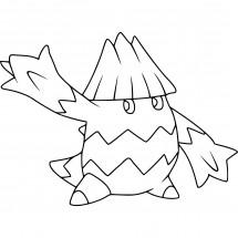 Coloriage Pokémon Blizzi