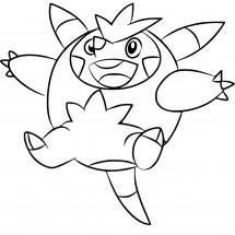 Coloriage Pokémon Boguérisse