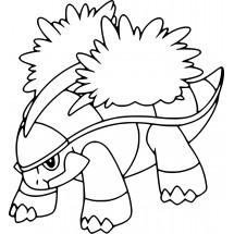 Coloriage Pokémon Boskara