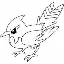Coloriage Pokémon Braisillon