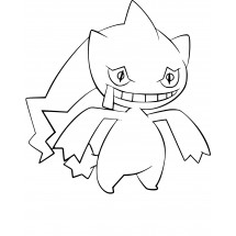 Coloriage Pokémon Branette
