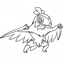 Coloriage Pokémon Brutalibré