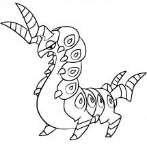 Coloriage Pokémon Brutapode