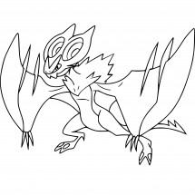 Coloriage Pokémon Bruyverne