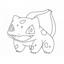 Coloriage Pokémon Bulbizarre