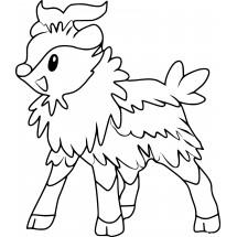 Coloriage Pokémon Cabriolaine