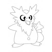 Coloriage Pokémon Cadoizo