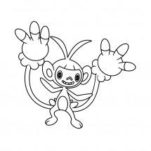 Coloriage Pokémon Capidextre