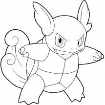 Coloriage Pokémon Carabaffe